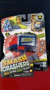 1 Truck 1 Collectibles Just Play Smash Crashers Propane Dwayne 2 Crates UNbox The Stuff Crash The Truck