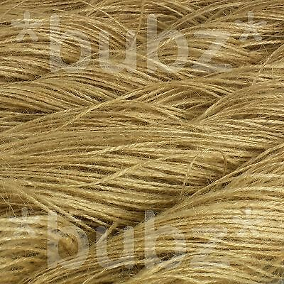 75 mtr JUTE TWINE NATURAL HESSIAN STRING SISAL FILLIS SHABBY CHIC THREAD VINTAGE