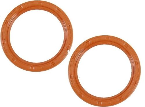For VW Thing Set of 2 Engine Crankshaft Seals Rear Elring 113105245FS