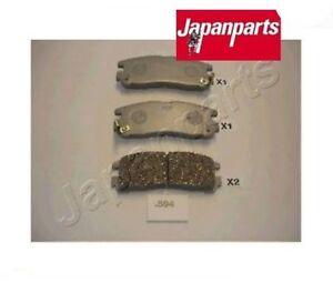 PP594AF-Kit-pastiglie-freno-a-disco-posteriore-Mitsubishi-MARCA-JAPANPARTS