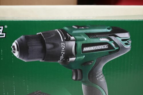 """MasterForce Drill 241-0481 20V 1//2/"""" Compact Drill//Driver Tool Only w// Belt Clip"""