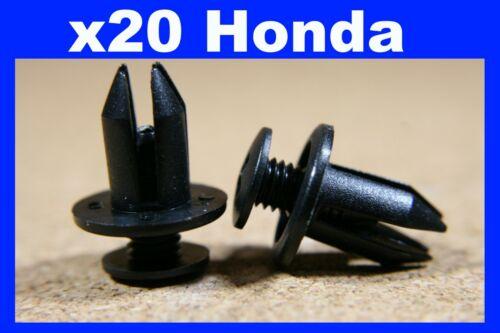 For HONDA 20 fastener screw clips door card panel fascia plates 7mm