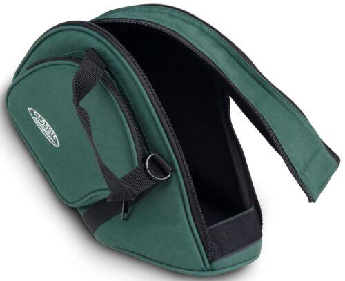 Jagdhorn Fürst Pless Signal Wald Horn Tasche Gigbag Softbag grün gepolstert Gurt