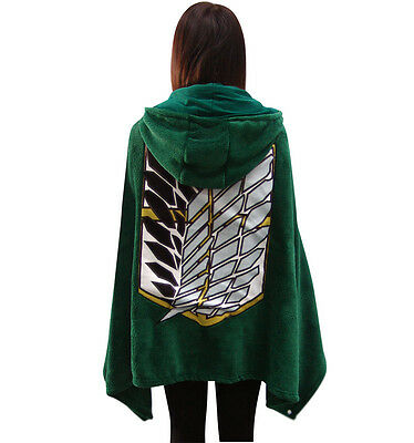 Green Attack on Titan Shingeki no Kyojin Attack  Air Condition Fleece Blankets