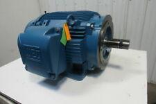 Weg Severe Duty 40hp Electric Motor 208 230460v 3ph 1180rpm 3645tc Frame