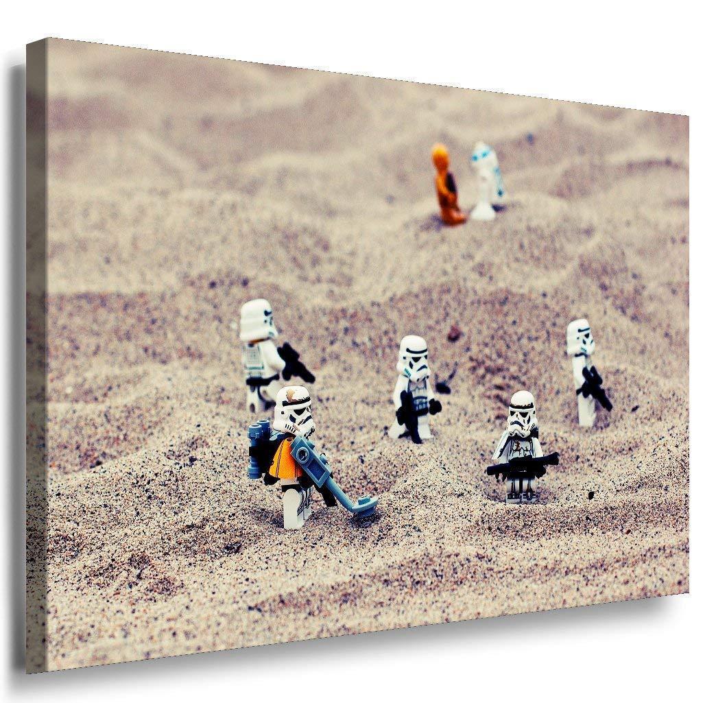 Star Wars Leinwandbild AK Art Bilder Mehrfarbig Wandbild LEGO FANART TOP XXL