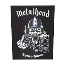 METALHEAD Backpatch 'Deutschland' Rückenaufnäher Motörhead ♫ Rock And Roll ♫