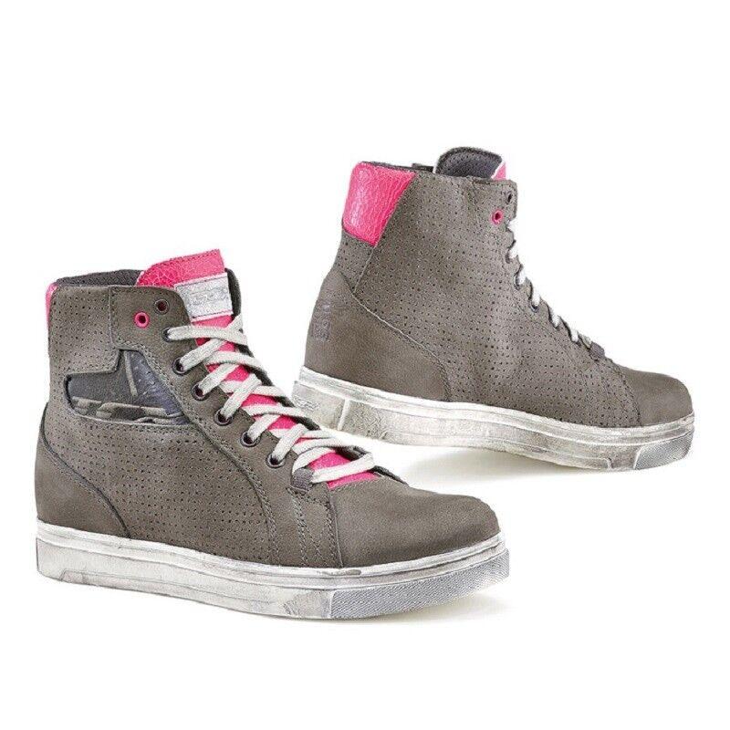 9422  zapatos TCX  mujer   STREET ACE AIR gris FUCSIA TAGLIA 37