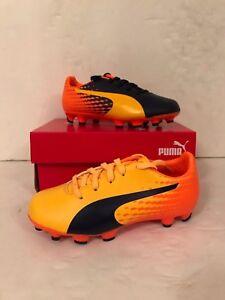 c47543321e42df Puma Junior evoSpeed 17.5 AG Football Boots - Various Sizes - Yellow ...