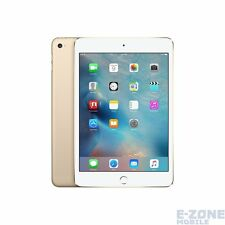"Apple  iPad Mini 4 WiFi  Gold   7.9"" 128GB  Unlocked Tablet"