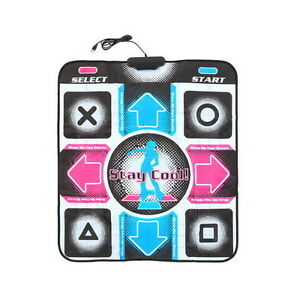 Non-Slip-Dancing-Step-Dance-Mat-Pad-Pads-Dancer-Blanket-to-PC-with-USB-New-Pl