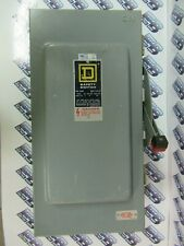 Square D H323nawk Series E 100 Amp 240v 3p4w Nema 12 Fusible Disconnect