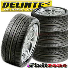 4 Delinte Thunder D7 225/45ZR18 95W Ultra High Performance Tires 225/45/18