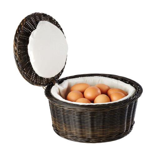 17 cm Gastlando Eierkorb Buffetkorb Eierwärmer für ca 20 Eier Ø 26 cm Höhe