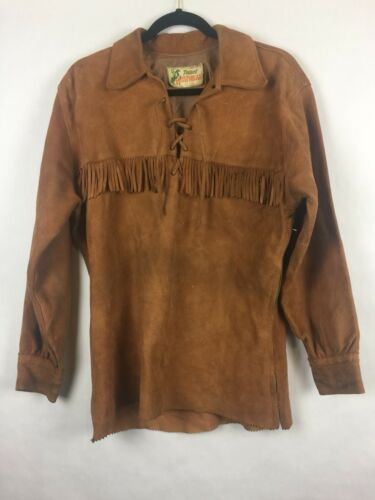 @ Tregos Westernwear Womens Pullover Leather Jacke