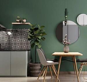 Solid Pure Dark Green Peel And Stick Wallpaper Contact Paper Self Adhesive Decor 663274007108 Ebay