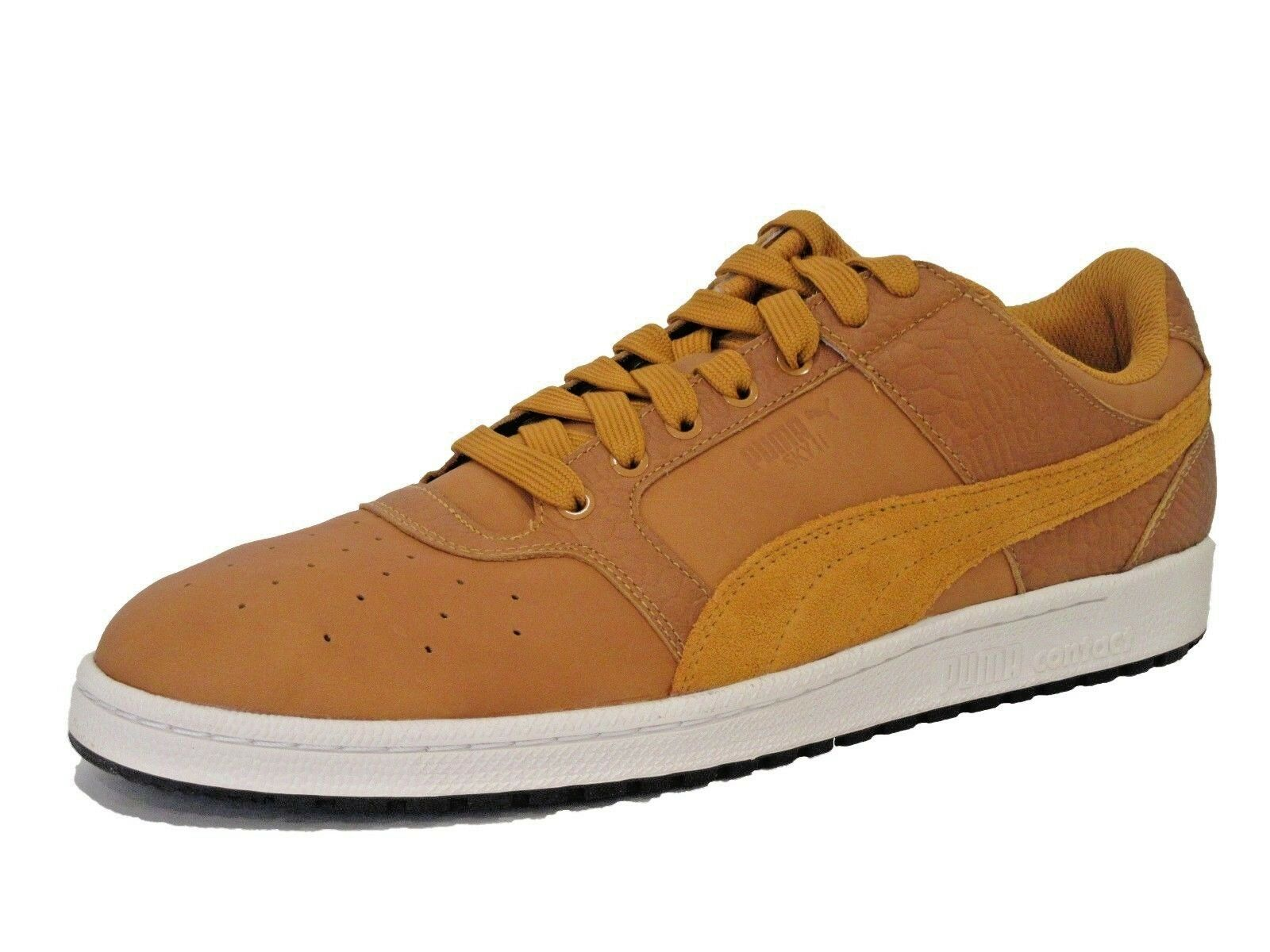 PUMA Mens Sky Ii Lo cgoldr Blocked Lace up Sneakers shoes