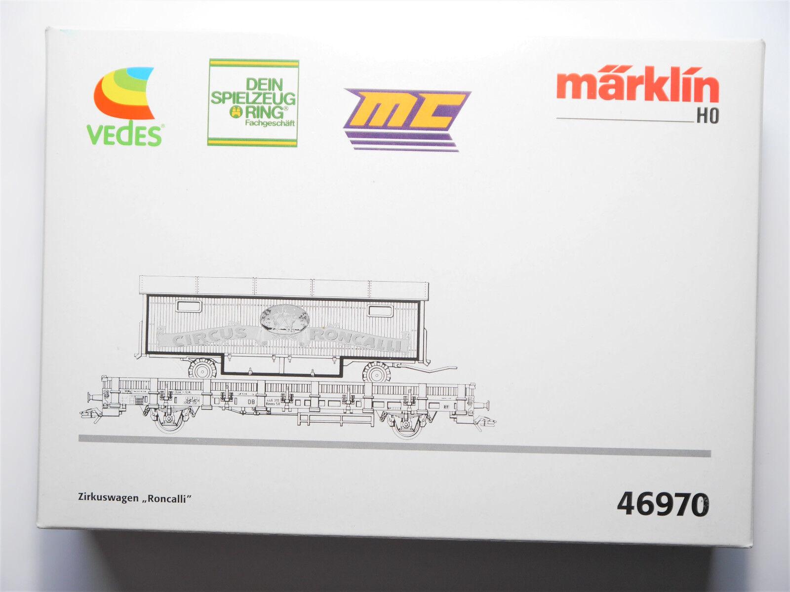 Carri merci Circus Circus CAR Roncalli,   Marklin  46970 in 1:87 h0 Boxed