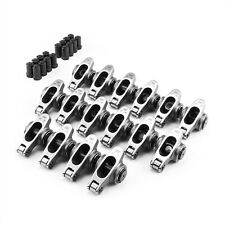 Chevy Sbc 350 15 Ratio 38 Stainless Steel Roller Rocker Arm Set