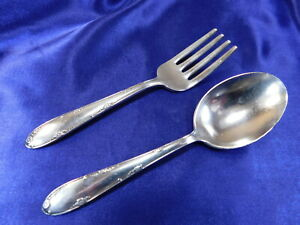 TOWLE MADEIRA STERLING SILVER SALAD FORK NEARLY NEW CONDITION