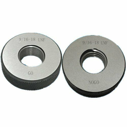 9 16 18 UNF Thread Ring Gage 2a Go Nogo 100 CALIBRATED Ship By DHL