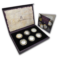 Numismatic Heritage Of Mexico 6 Coin Set - Series II - SKU #76202