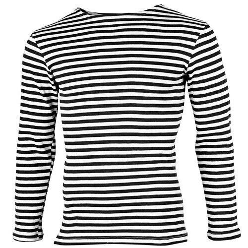 MEN Winter striped vest knitted double knit Tielnyashka тельняшка