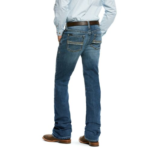 Ariat® Men/'s M2 Grayson Fargo Relaxed Stretch Boot Cut Jeans 10026664