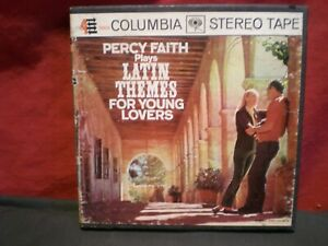 Percy-Faith-Latin-Themes-For-Young-Lovers-Reel-To-Reel-Tape-7-1-2-IPS-Tested