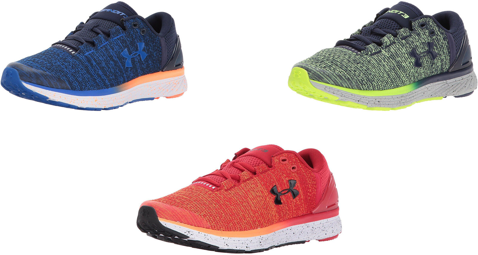 official photos 58cce 58d99 Details about Under Armour Boys' Grade School Charged Bandit 3 Sneakers, 3  Colors