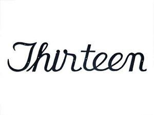 script style address house numbers written word cursive font black