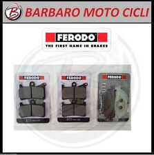 KIT 3 COPPIE PASTIGLIE FRENO ANT POST FERODO YAMAHA  T-MAX 530 2015 BRAKE TMAX