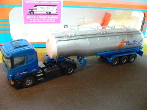 1 50 tekno scania 124l Nedlloyd silo-semi-remorque