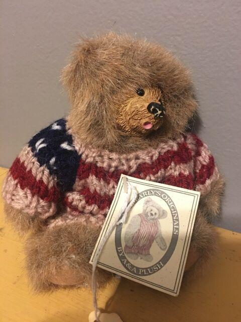 NWT NOS Kimbearly's Originals Bear - Mini Whistle N Pete 19045 1E/3263