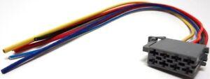 BLAUPUNKT-Radio-Anschlusskabel-Block-C-Spannungsversorgung-Ersatzteil-8604492639