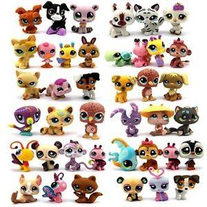 Rask Random Pick Different Lot 5 Pcs Littlest pet shop Dolls Children UF-72
