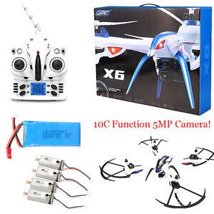 JJRC H16 Tarantula X6 drone 4CH RC Quadcopter 5MP Cam...