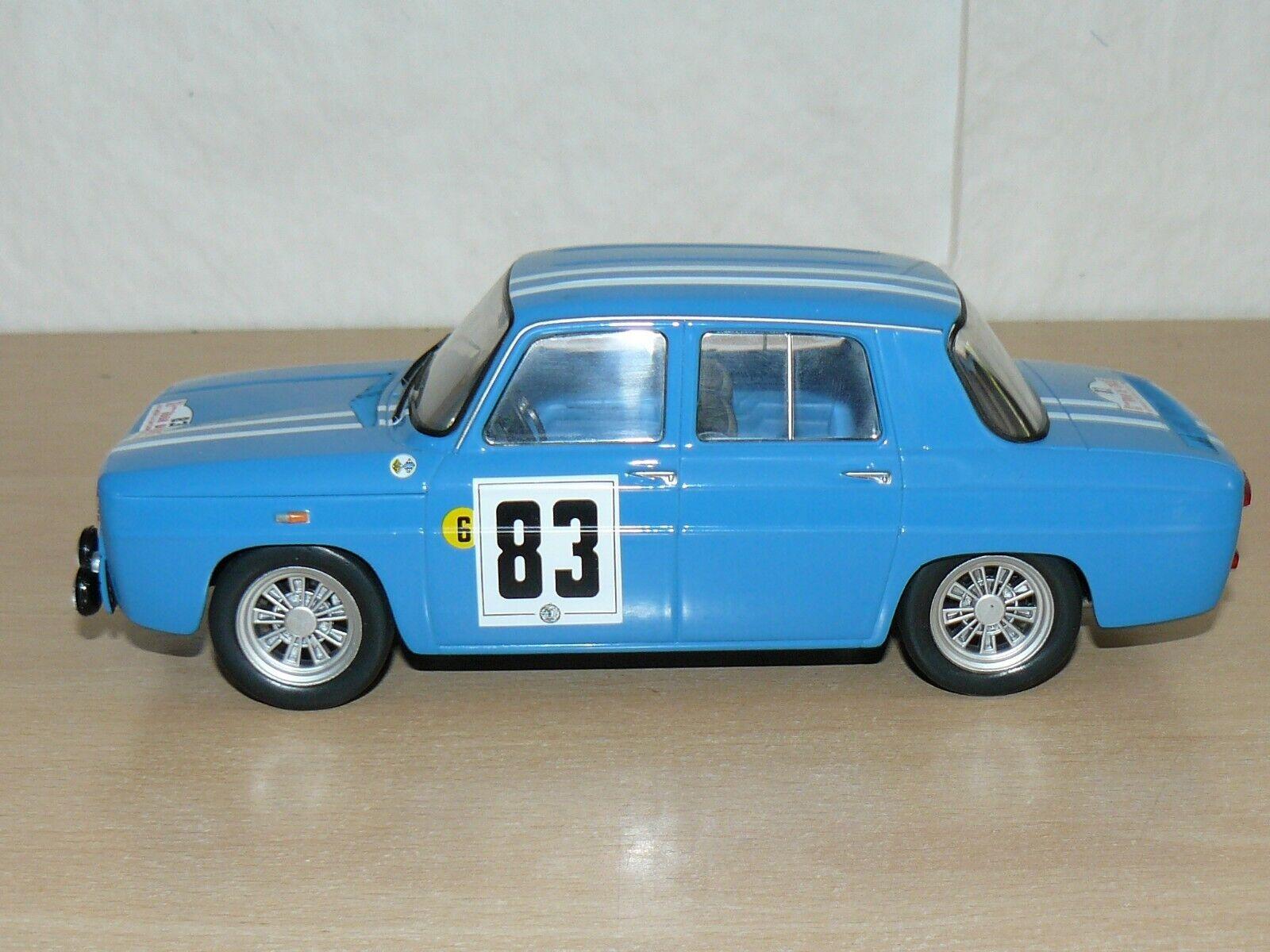 RENAULT 8 Gordini Nº 83 blue XI Tour de Corse 1966 1:18 scale 1/18 diecast car