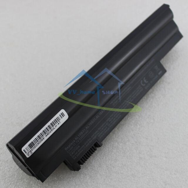 6 Cell Battery for Acer Aspire One AOD255 D255 D257 D260 AK.006BT.074 AL10A31