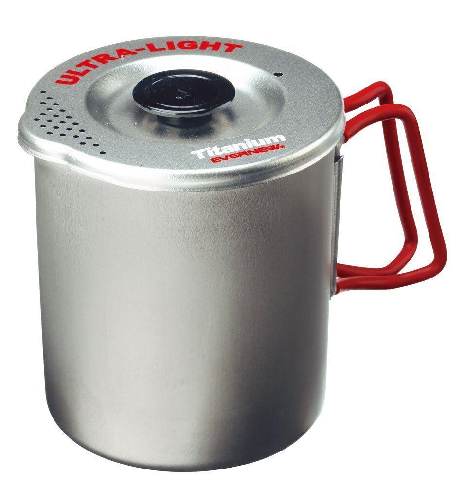 New EVERNEW ECA521R Titanium Ultralight 700 mL Pasta Pot Japan Japan Pot b10a40