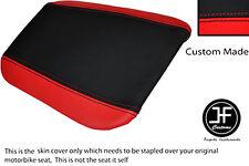 Rojo y Negro se ajusta Cagiva Mito personalizado de vinilo 125 95-07 Trasero Cubierta de asiento solamente