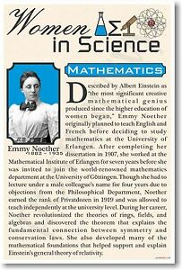 Emmy-Noether-High-School-NEW-Famous-Women-In-Science-Poster-fp314