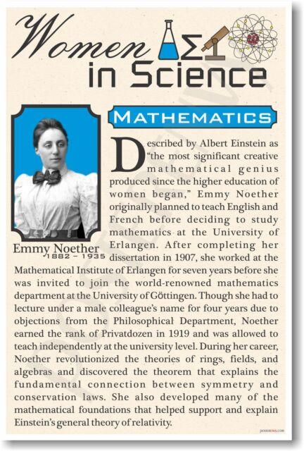 Hypatia High School fp315 NEW Famous Women In Science Poster