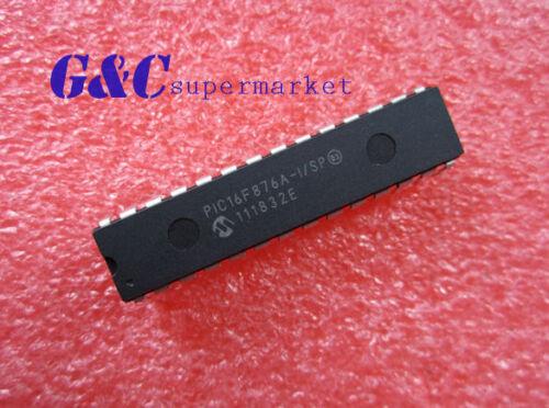 5PCS PIC16F876A-I//SP PIC16F876A IC MCU FLASH 8KX14 EE 28SDIP NEW DATE CODE