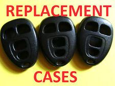 LOT 3 CASE CHEVY BUICK PONTIAC KEYLESS ENTRY REMOTE KEY FOB TRANSMITTER 15252034