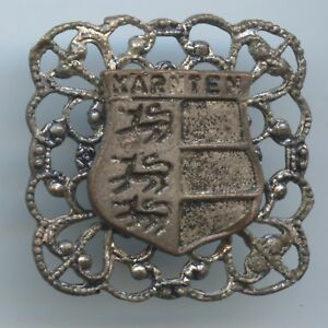 """Medaillen WunderschöNen A907 Altes Kleines Abzeichen """"kärnten Wappen"""" Dauerhafte Modellierung"""