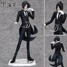 "Kuroshitsuji Black Butler Sebastian Michaelis 22cm / 8.8"" PVC Figure NO Box"