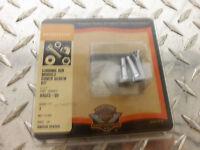 82-97 Harley Davidson Sportster Chrome Ignition Module Cover Screw Kit Hardware