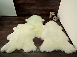 Image Is Loading Soft 100 Genuine Natural Sheepskin Rug Pet Bed