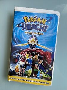 Pokemon Jirachi Wish Maker Vhs 2004 786936244106 Ebay